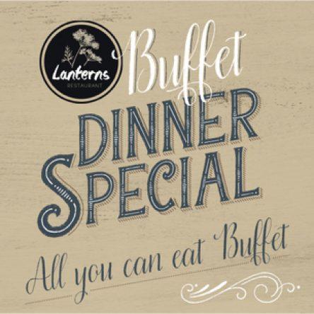 Buffet Dinner Special