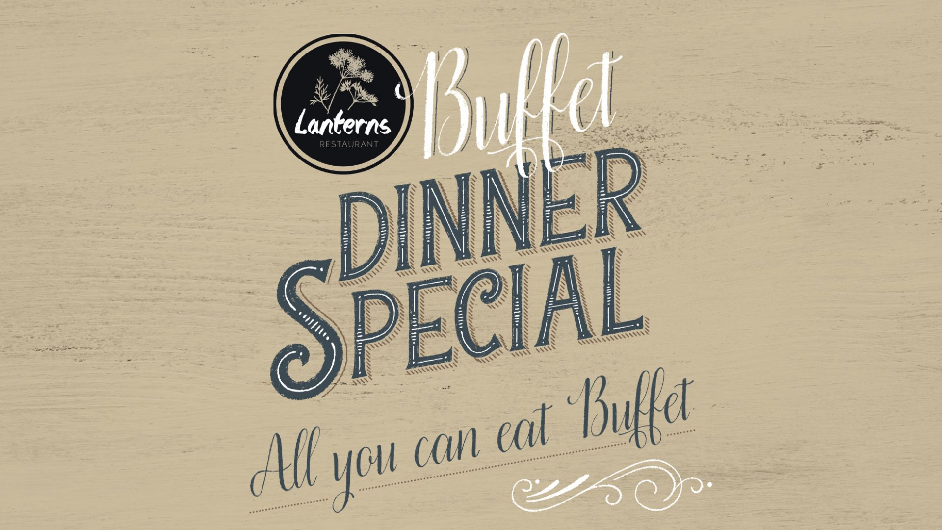 Dinner Special at Lanterns Restaurant
