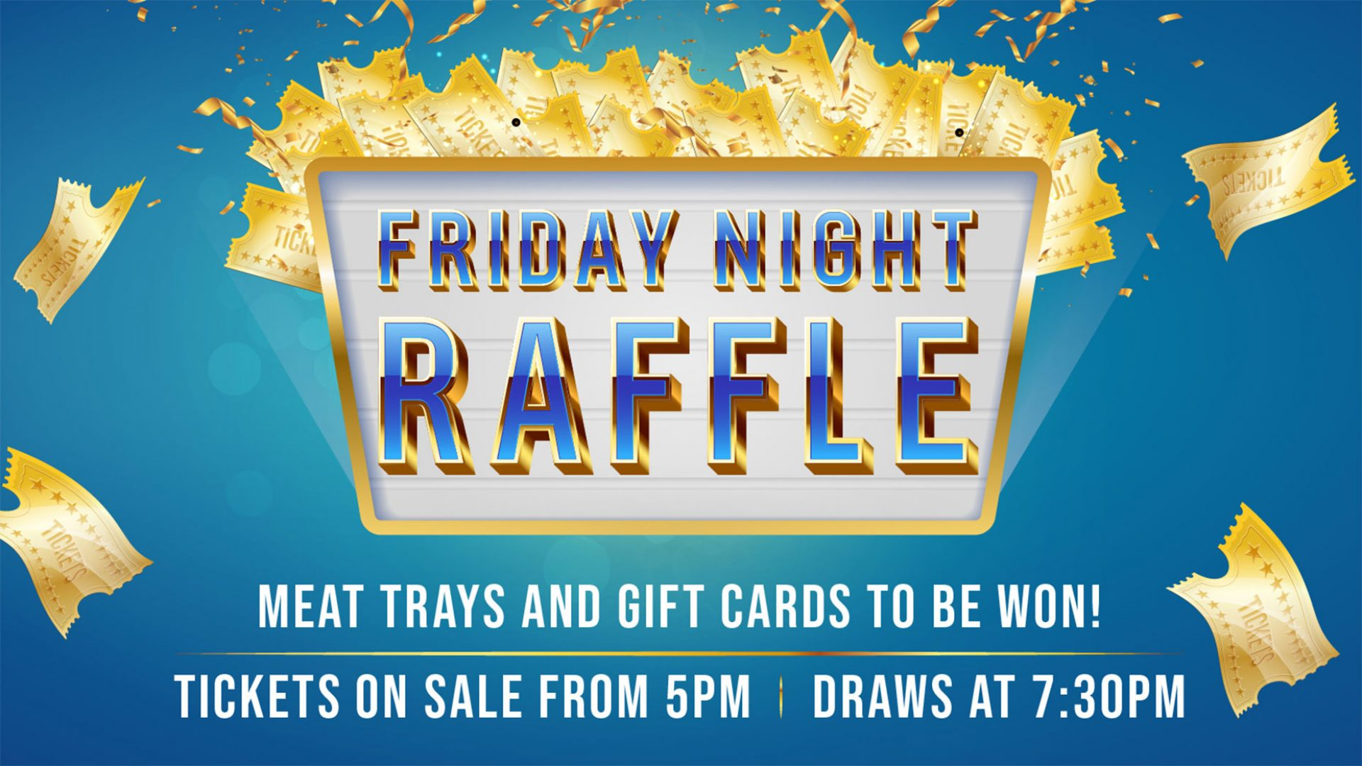 Friday Night Raffle at Brothers Leagues Club Cairns