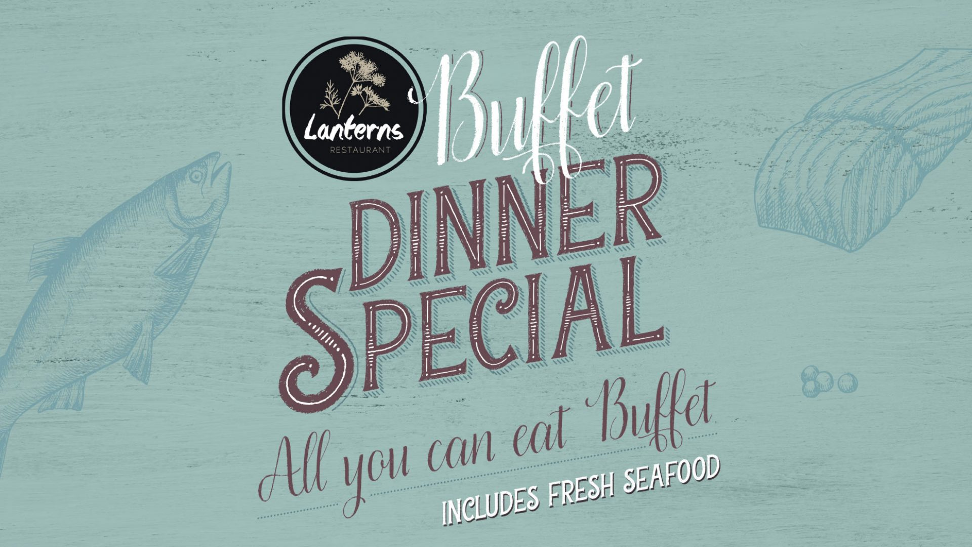 Seafood Dinner Buffet Special at Brothers Leagues Club Cairns