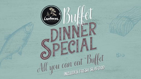 Seafood Buffet Dinner Special