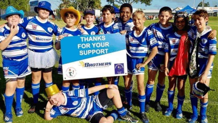 Brothers Juniors play at Laurie Spina Shield