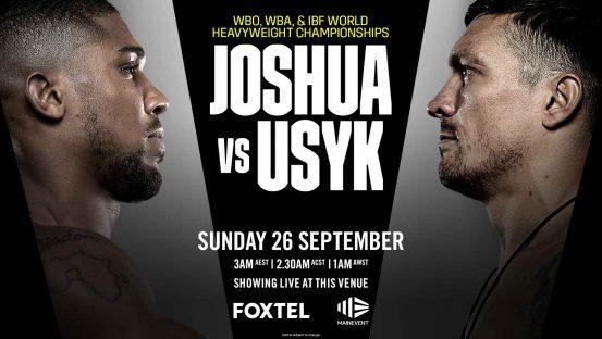Joshua v Usyk